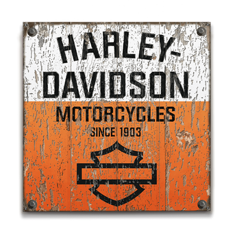 Harley-Davidson Signs Vintage - Retro - Old Wood Signs