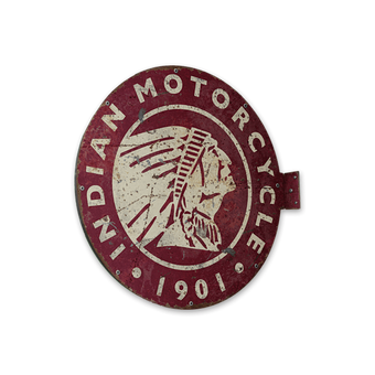 Indian Motorcycle Vintage Marquee Style Pub Sign