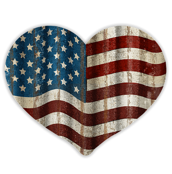 Heart Shaped Flag