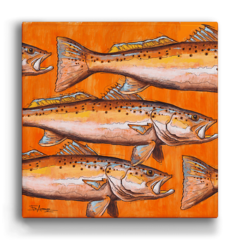 Orange Sea Trout Box Art