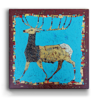 Rocky Mountain Elk Blue Box Art