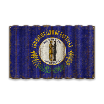 Kentucky Corrugated State Flag