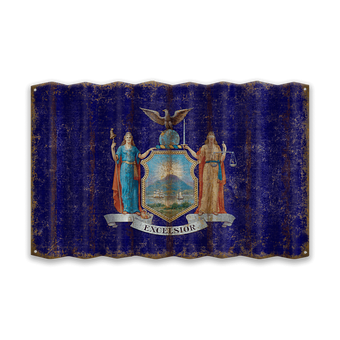 New York Corrugated State Flag