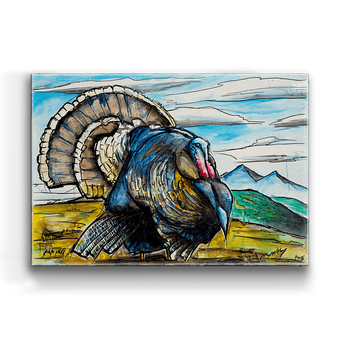 Turkey On Display Box Art