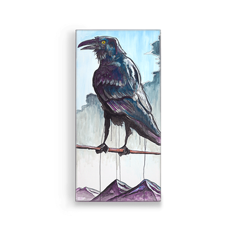 Raven on Branch Box Art