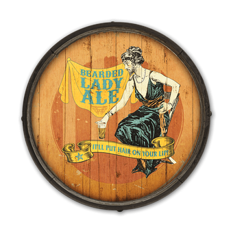 Bearded Lady Ale Barrel End