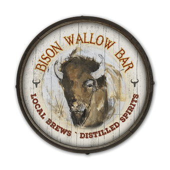 Bison Bar Barrel End