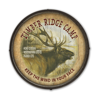 Timber Ridge Elk Camp Barrel End