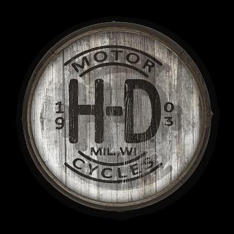 Harley-Davidson Signs Vintage - Retro - Old Wood Signs