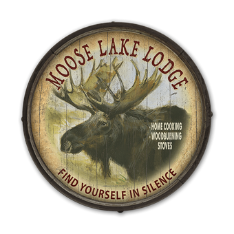 Moose Lodge Barrel End