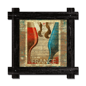 Vin de France Brick SIgn