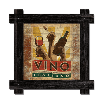 Vino Italiano Brick Sign