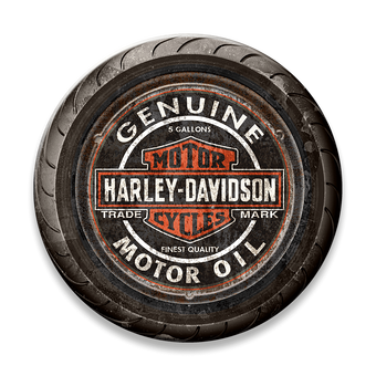 Bar & Shield Motorcycle Tire Sign
