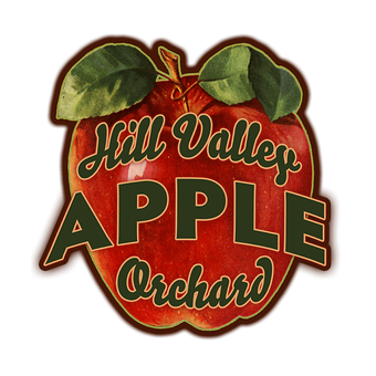 Apples (Shaped Sign)