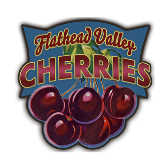 Cherries (Shaped Sign)