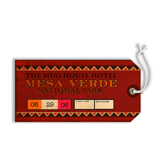 Mesa Verde National Park Luggage Tag