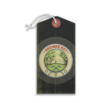 Golfing Logo Luggage Tag