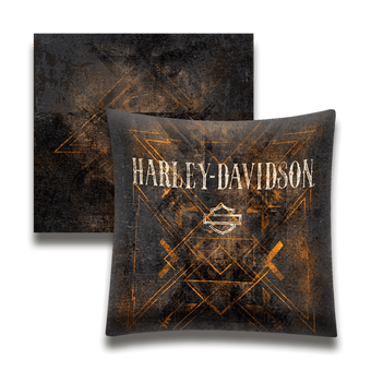 Harley-Davidson Faded Black - Pillow