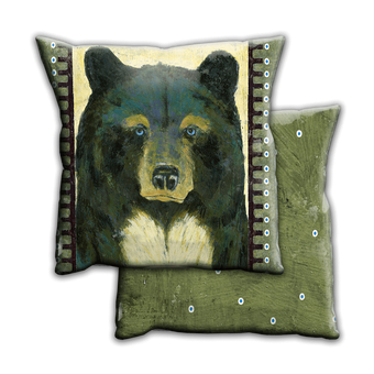 Timber Black Bear - Pillow