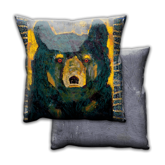 Firefly Black Bear - Pillow