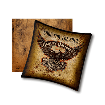 Harley-Davidson Good for the Soul - Pillow