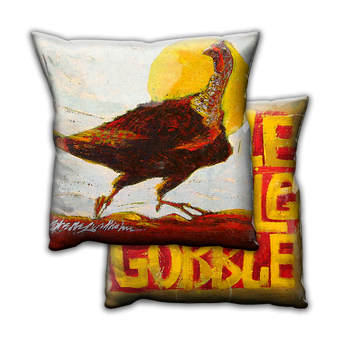Hot to Trot Turkey - Pillow