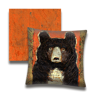 Little Owl Bear - Pillow