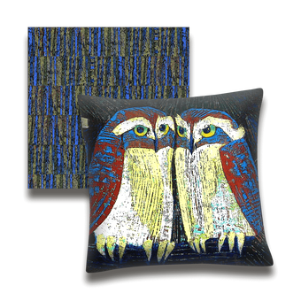 Owl Moonshiners - Pillow