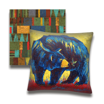 Nosey Neighbor Bear - Pillow
