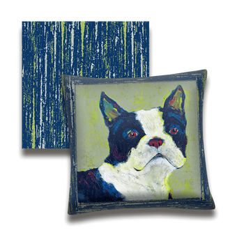 Shamus The Boston Terrier - Pillow