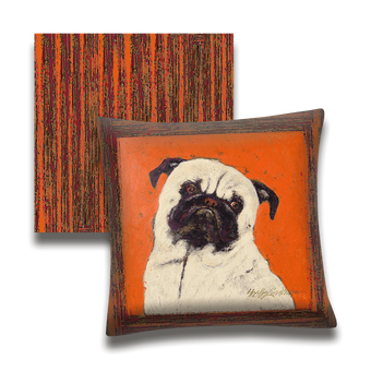 Ziggy The Pug - Pillow