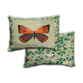 American Copper Butterfly - Pillow