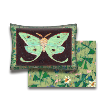 Luna Moth - Pillow