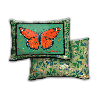 Mona The Monarch Butterfly - Pillow