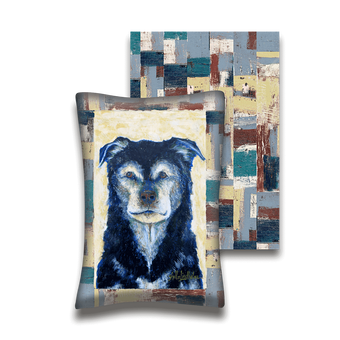 Old Faithful Senior Dog - Pillow