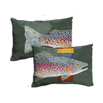 Rainbow Trout - Pillow