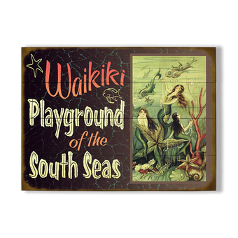 Mermaid Playground Sign