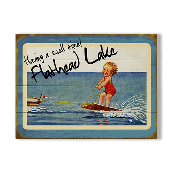 Baby Wakeboarder Sign