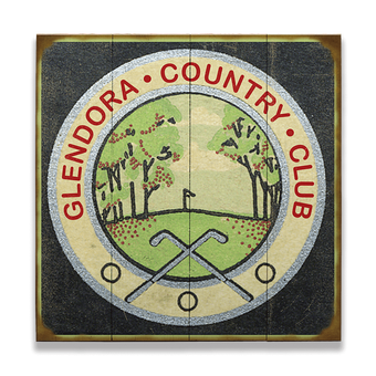 Country Club Golf Sign