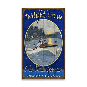 Twilight Cruise Sign