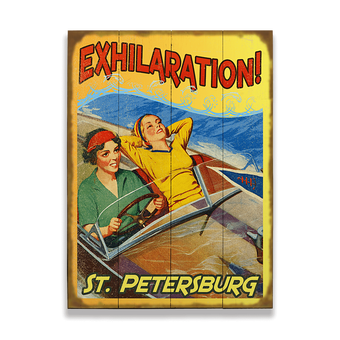 Boating is Exhilaration! Sign
