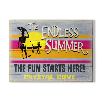 Endless Summer The Fun Starts Here Sign