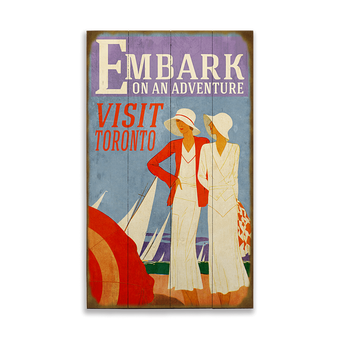 Embark on an Adventure Sign