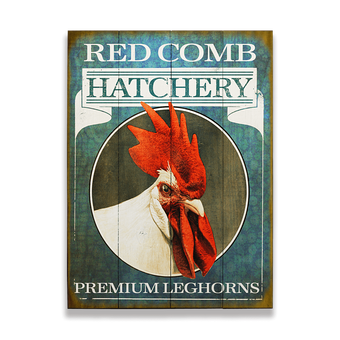 Hatchery (Rooster) Sign