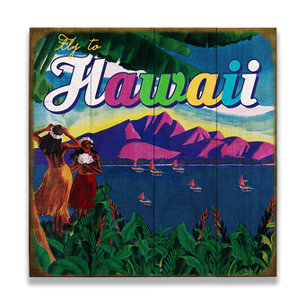 Fly to Hawaii Sign