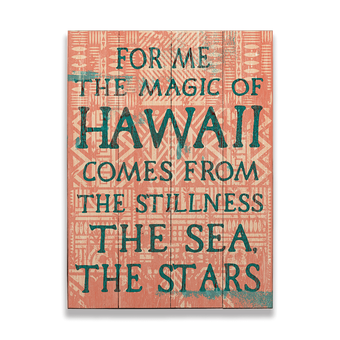 Hawaiian Magic Sign