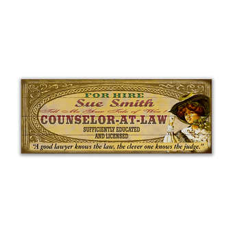 Counselor-At-Law Female