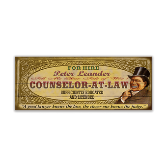 Counselor-At-Law Male
