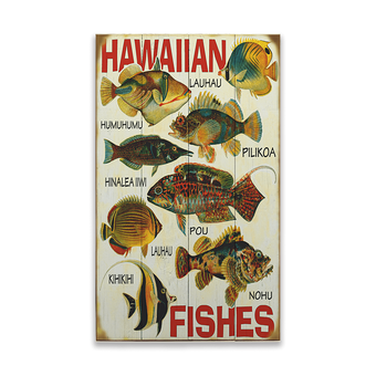Hawaiian Fish Sign