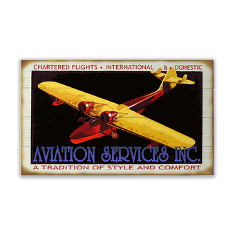 Aviation Charters Sign